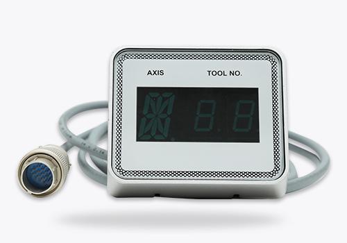 Axis-tool number display